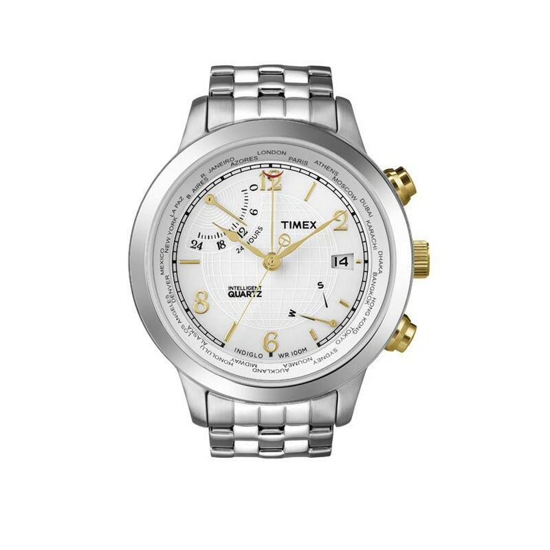 【タイメックス】【TIMEX】 腕時計 メンズ 腕時計 インテリジェントクォーツ ワールドタイム T2N613 Men's うでどけい メンズ 腕時計