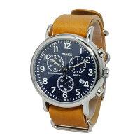 TIMEX/タイメックス/ウィークエンダ—クロノ腕時計TW2P62300TW2P62200TW2P62100ネイビーブラウンブラック