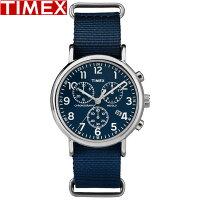 TIMEX/タイメックス/ウィークエンダークロノグラフ腕時計TW2P71300ブルーメンズレディース