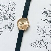 【OliviaBurton】オリビアバートンAnimalMotifMidiMouldedBee腕時計うでどけいレディース本革レザーゴールドローズゴールドクオーツグレイブラックアニマルモチーフ