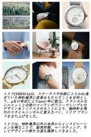 【あす楽送料無料】【TRIWAトリワ】腕時計うでどけいメンズレディース本革レザーゴールドシルバーローズゴールドクオーツブラックFALKENファルケン38mm