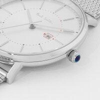 【あす楽送料無料】【ポールスミスPAULSMITH】腕時計うでどけいメンズメッシュ本革ゴールドシルバークオーツブラック42mm