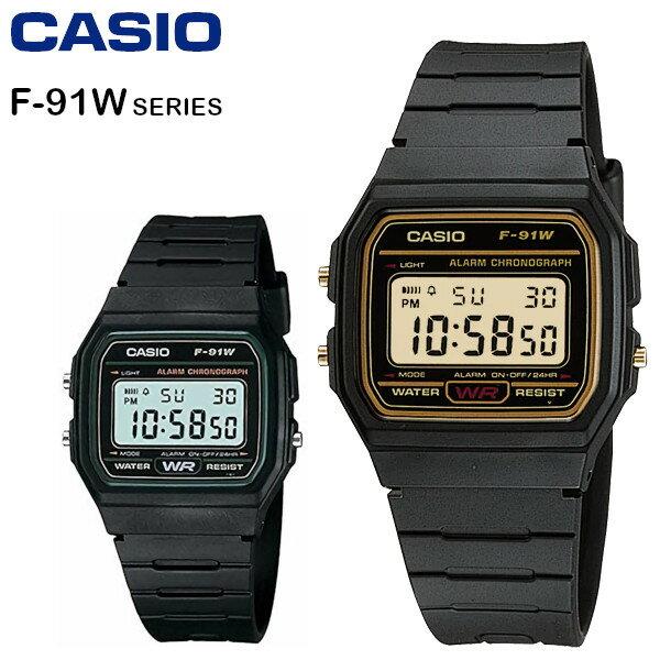 CASIO f91w watch CASIO STANDARD F-91W F-91W-3 F-...