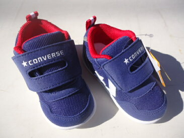 ★CONVERSE FIRST☆STAR BABYシューズ MINI RS2 NVY/WHT。