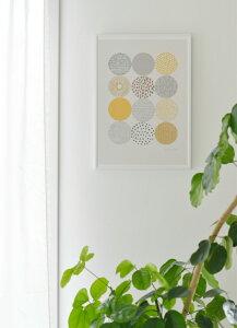 ELOISE RENOUF | CIRCLES | A3 アートプリント/ポスター 【北欧 シンプル おしゃれ】