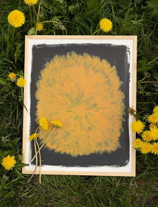 FINE LITTLE DAY   DANDELION POSTER   アートプリント/アートポスター (40x50cm) 北欧 インテリア デザイン リビング