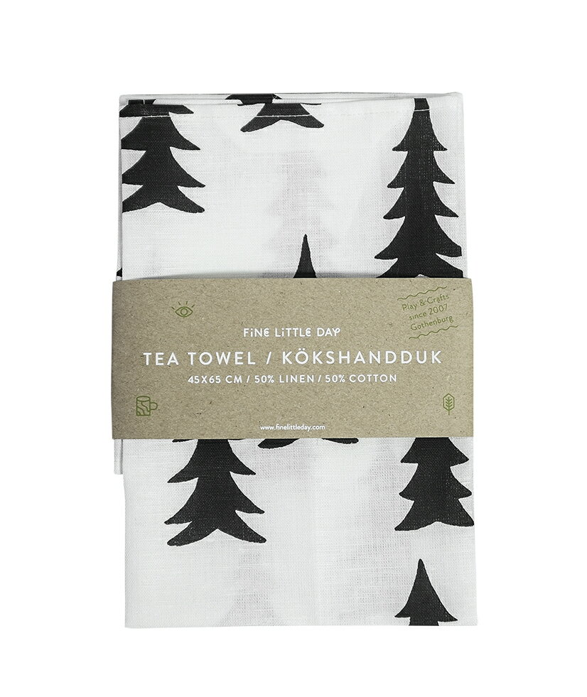 FINE LITTLE DAY | GRAN TEA TOWEL (no.70600-1) | キッチンクロス (47x70cm)【北欧 スウェーデン シンプル リビング おしゃれ】
