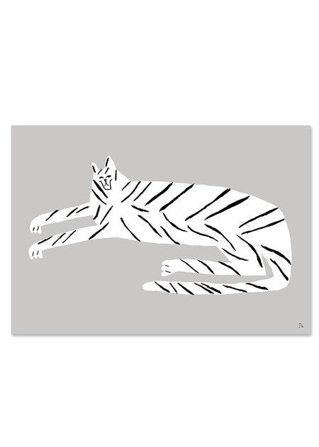 【在庫限り】FINE LITTLE DAY   TIGER POSTER   アートプリント/ポスター (100x70cm)