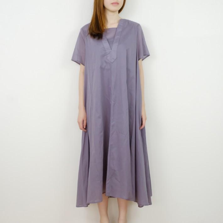 レディースファッション, ワンピース SALEKELEN () Layered Long Dress Uni (purple)
