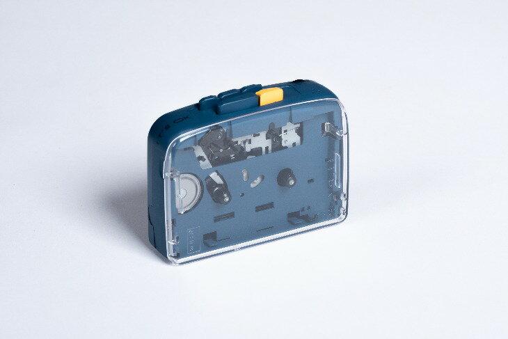 ポータブルオーディオプレーヤー, ポータブルカセットプレーヤー NINM Lab ITS OK Bluetooth 5.0 Cassette Player EVENING navy