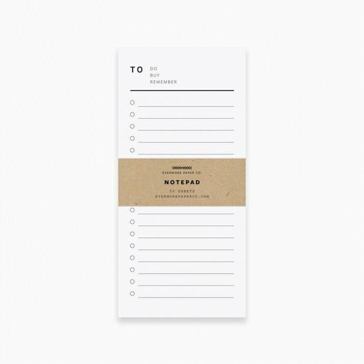 紙製品・封筒, グリーティング・カード EVERMORE PAPER CO. THE LIST NOTE PAD (TO DOBUYREMEMBER) OK