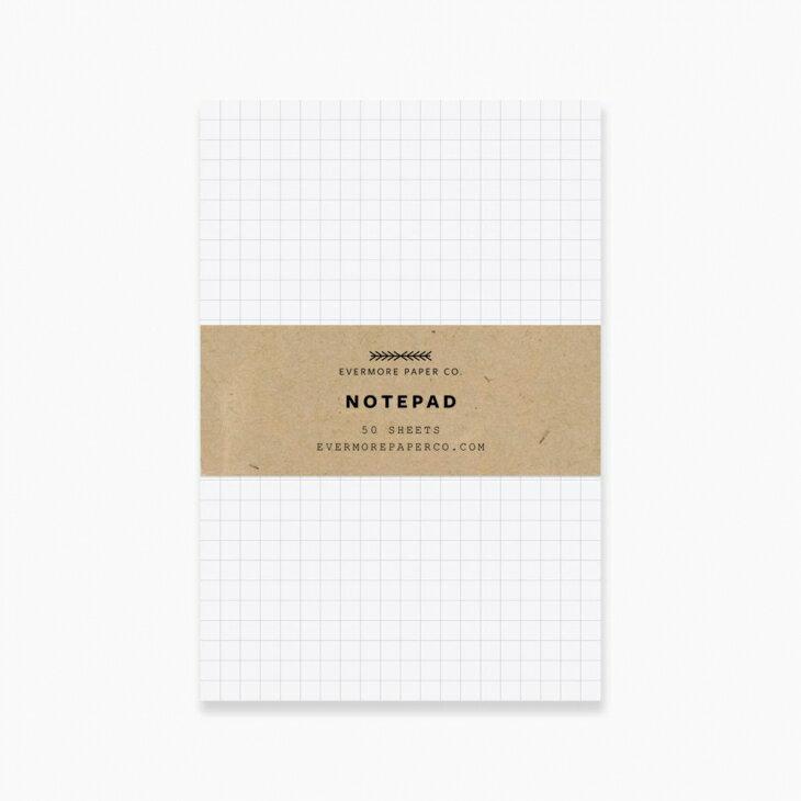紙製品・封筒, グリーティング・カード EVERMORE PAPER CO. GRID NOTE PAD OK