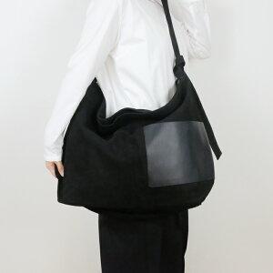yuruku (ユルク) | Side Poket Shoulder Bag (black) | バッグ【送料無料 ショルダーバッグ 国産 シンプル おしゃれ】