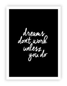 UKのイラストレーターによるヴィンテージ・タイポグラフィ!THE MOTIVATED TYPE | DREAMS DON'T...