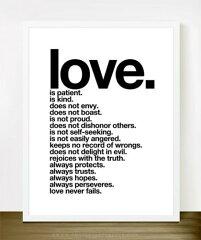【メール便配送OK】オーストラリアはメルボルンのブランド、The Love Shopのタイポグラフィ!TH...