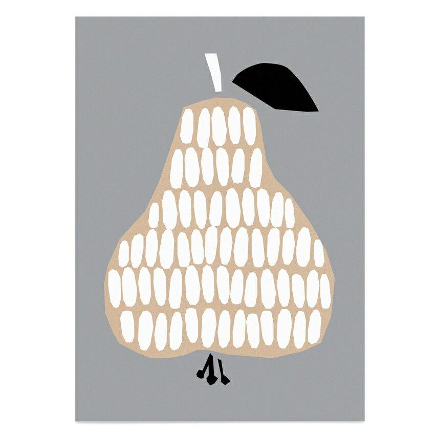 DARLING CLEMENTINE   PEAR   HARVESTポスター (50cmx70cm) 【北欧 洋なし おしゃれ インテリア ダーリンクレメンタイン ネコポス不可】