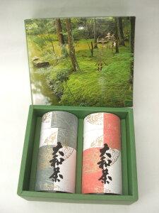 [田中茶園]若芽摘み200g×2個化粧缶箱セット(SGT-55)