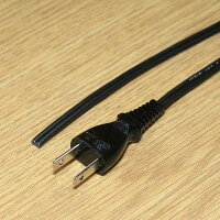 ACプラグ付き0.75SQ平行2線コード2mVFF電源コード