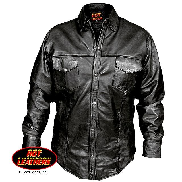 バイクウェア・プロテクター, ジャケット ! ! ! Motorcycle Genuine Leather Shirt ! ! ! OK! !