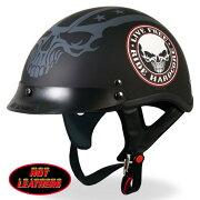 ワンタッチ バックル ステンシル ヘルメット ブラック