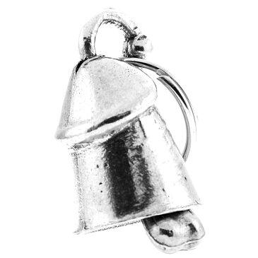 米国製 Guardian Bell ホットレザー [Prince Albert] プリンス・アルバート ガーディアンベル Made in USA Gremlin Bell ボディピアス ジョークグッズ 魔除け お守りとしてバイカーへの特別なギフトに! バイク オートバイ 鈴 アクセサリー キーホルダー キーチェーン