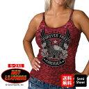 【送料無料!】日本未発売! セール価格! 米国直輸入! ホットレザー [Upwing Eagle Burnout Ladies Tank Top] アップウィングイーグル バーンアウト レディース タンクトップ! ノースリーブ キャミソール インナー ワインレッド シースルー セミシアー Hot Leathers バイクに! 1