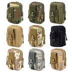 【送料無料!】全9色! [Tactical Military Belt Molle Waist Bag] タクティカルミリタリー ベルトモールウエストバッグ! ケース ポーチ ホルスター モールベスト 撥水 防水 アーミー スマホや煙草などの携帯に! キャンプ アウトドア サバゲー バイクに!
