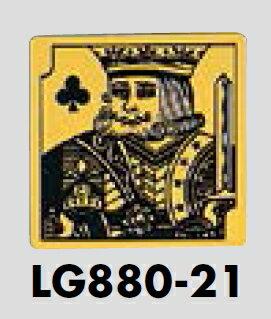 メール便可 真鍮製サインプレート 男性 80×80 A