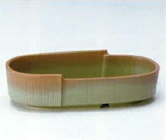 供萬古焼花器勝楽窯陶器製水盤生ke花插花花瓶花道使用的花瓶贏-24
