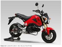 YOSHIMURA/ヨシムラGROM(13-15/16)機械曲R-77SサイクロンカーボンエンドTYPE-DownEXPORTSPEC政府認証SSC(ステンレスカバー/カーボンエンドタイプ)