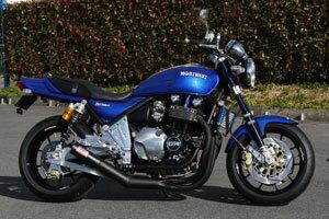 ゼファー1100 モリワキ ワンピース ブラック マフラー [MORIWAKI ZEPHYR1100 ONE-PIECE BLACK] Kawasaki/カワサキ ( 01810-40215-00 )画像