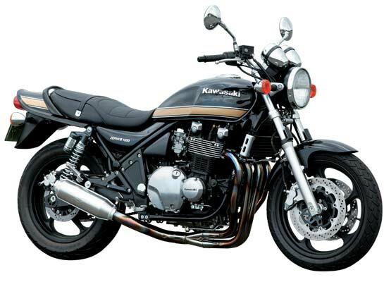 ゼファー1100 モリワキ モンスター ステンレス マフラー [MORIWAKI ZEPHYR1100 MONSTER STAINLESS CAT]Kawasaki/カワサキ画像