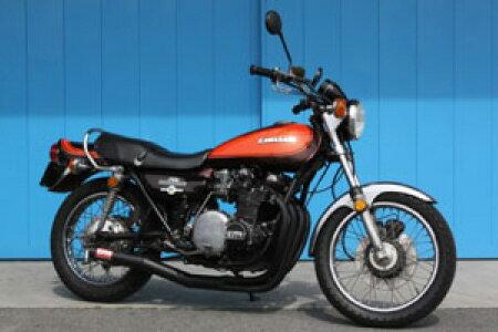 Z1/Z2 モリワキ ワンピース ブラック マフラー [MORIWAKI Z ONE-PIECE BLACK] Kawasaki/カワサキ (01810-40201-00) ( 01810-40201-00 )画像