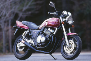MORIWAKI/モリワキ ONE-PIECE BLACK  CB400SF(NC31) 92-98 (Ver R/S取り付け不可) マフラー ( A100-127-3411 )画像