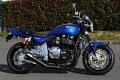 ゼファー1100モリワキワンピースブラックマフラー[MORIWAKIZEPHYR1100ONE-PIECEBLACK]Kawasaki/カワサキ