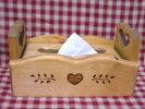 【木製品】カントリー★ティッシュボックス*木製BOX*カントリー雑貨