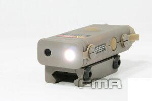 【ポイント10倍】 FMA PRO-LAS-PEQ10タイプ レッドレーザー&フラッシュライト DE