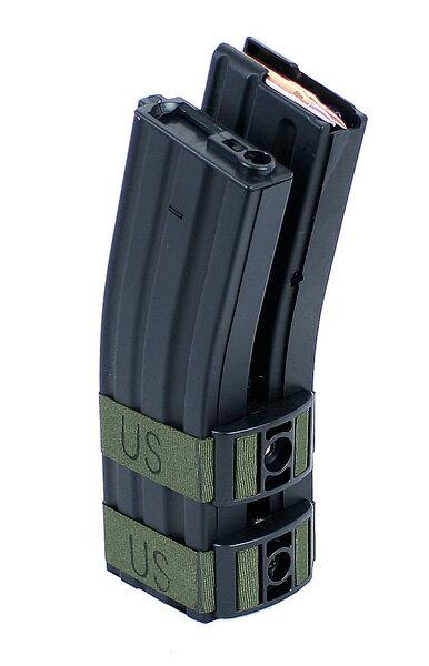 BattleAxe M4/M16用 音感電動ロングマガジン 1200連 BK ブラック【只今、商品合計8,000円(税抜)以上注文で、CYCバイオBB弾1袋プレゼント中!】