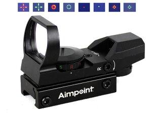 【ポイント10倍】 AIMPOINTタイプ JH400 オープンドットサイト BK