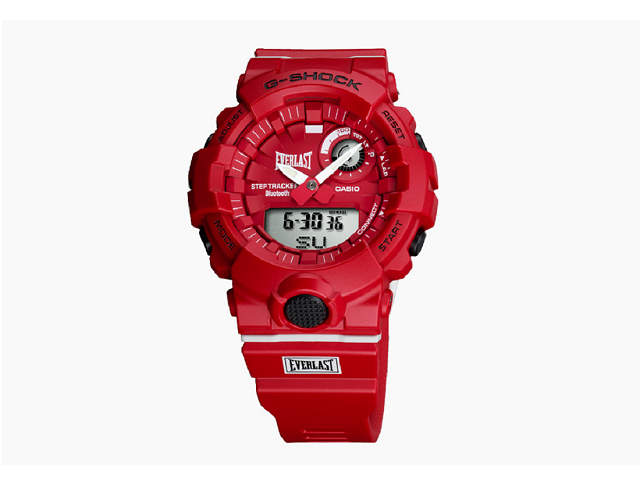 腕時計, メンズ腕時計  G-SHOCK G-SQUAD EVERLAST Bluetooth GBA-800EL-4A GBA-800EL-4ACR iPhoneAndroid 200LAP GBA-800EL-4AJR(
