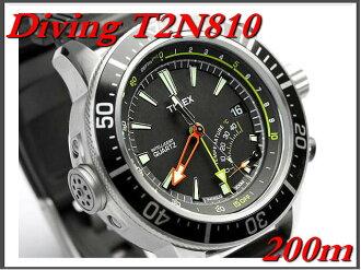 Depth, temperature, pressure reducing function, (Timex) TIMEX watch divers / intelligent quartz depth T2N810
