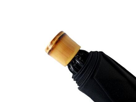 全品送料無料クラシコメンズ竹製手持ちバンブーハンドル折りたたみ傘軽量高級紳士傘雨傘傘かさカサメンズおしゃれブランドメンズファッション保証付きブラックストライプ♪