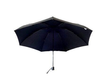 送料無料クラシコメンズステッチレザー折りたたみ傘軽量ミニ高級紳士傘開閉便利機能レザーハンドル格子傘かさカサ大きい雨傘メンズおしゃれブランドメンズファッション保証付きブラック♪