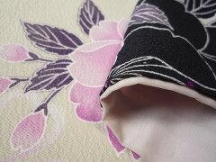 着物レンタル春秋冬用レディース袷小紋セット「Mサイズ」SEIKOMATSUDA白・桜(送料無料)和服レンタルの画像3