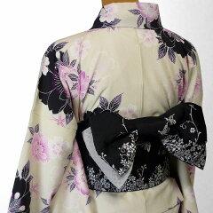 着物レンタル春秋冬用レディース袷小紋セット「Mサイズ」SEIKOMATSUDA白・桜和服レンタルの画像5