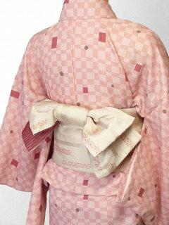 宅配レンタル単衣着物セット「Lサイズ」(初夏・初秋用/女性用レディース単衣)の画像2