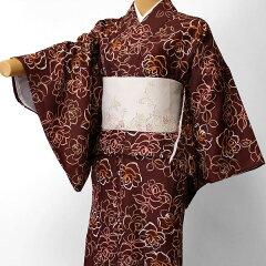 宅配レンタル単衣着物セット「Mサイズ」(初夏・初秋用/女性用レディース単衣)の画像