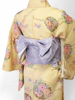 宅配レンタル単衣着物セット「XSサイズ」RYOKOKIKUCHI(初夏・初秋用/女性用レディース単衣)の画像2