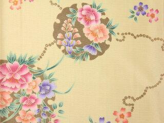 宅配レンタル単衣着物セット「XSサイズ」RYOKOKIKUCHI(初夏・初秋用/女性用レディース単衣)の画像3