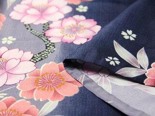 宅配レンタル単衣着物セット「Mサイズ」RYOKOKIKUCHI(初夏・初秋用/女性用レディース単衣)の画像4